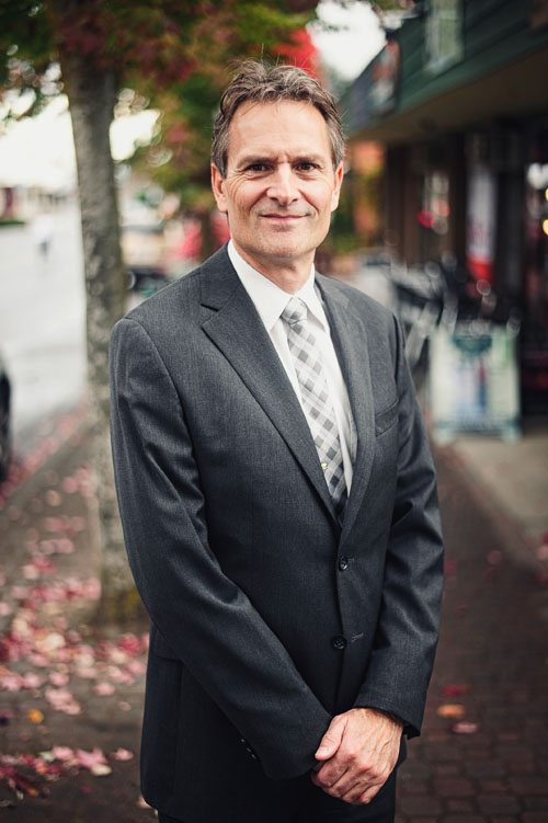 Image of Doug Marshall, Lawyer and Notary at Marshall and Lamperson's, Qualicum Beach law firm