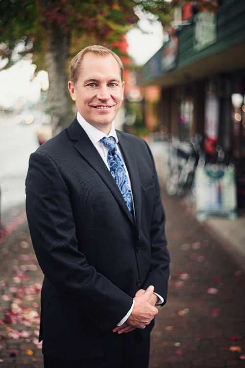 Image of Gary Russell, Lawyer and Notary at Marshall and Lamperson, Qualicum Beach law office, Port Alberni Law office